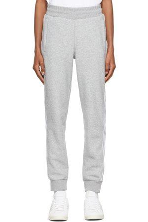 adidas Grey Comfort 3-Stripes Lounge Pants