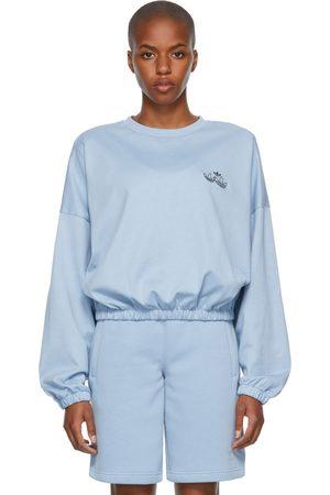 adidas Blue Triple Trefoil Sweatshirt