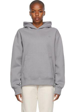 adidas Grey Adicolor Trefoil Hoodie