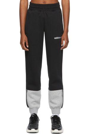 adidas Black 3-Stripes Split Lounge Pants