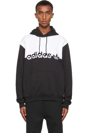 adidas Black & White Split Hoodie