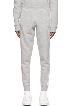 adidas Grey 3-Stripes Lounge Pants