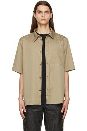 HAN Kjøbenhavn Khaki Boxy Short Sleeve Shirt