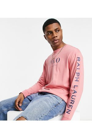 Polo Ralph Lauren Men Long Sleeve - X ASOS exclusive collab long sleeve t-shirt in with chest and arm logo