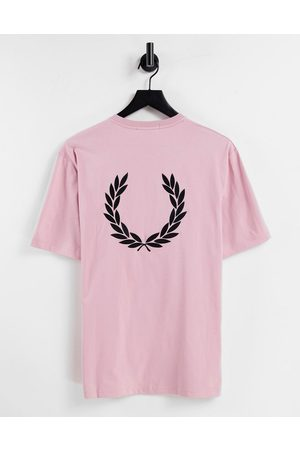 Fred Perry Women T-shirts - Laurel wreath back print T-shirt in