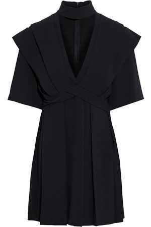 IRO Women Party Dresses - Woman Didje Cutout Pleated Crepe Mini Dress Size 38