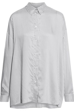IRO Women Long sleeves - Woman Mixo Oversized Striped Voile Shirt Stone Size 38