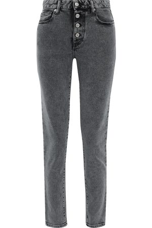 IRO Woman Gaety High-rise Slim-leg Jeans Dark Size 26