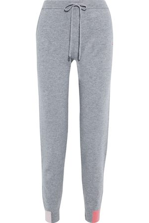 Chinti & Parker Women Sweatpants - Woman Color-block Wool And Cashmere-blend Track Pants Size S