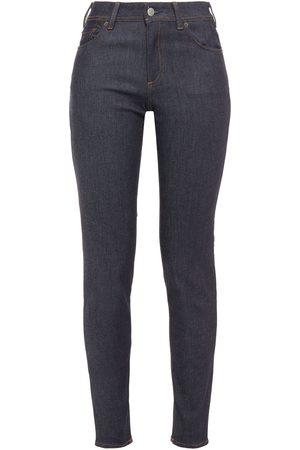 Acne Studios Woman Climb Mid-rise Skinny Jeans Dark Denim Size 25W-34L