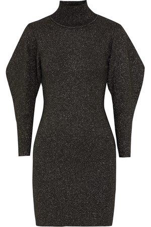 A.L.C. Women Party Dresses - Woman Samuel Lurex Turtleneck Mini Dress Size S