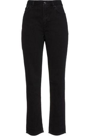 Acne Studios Women Straight - Woman Boy Mid-rise Straight-leg Jeans Size 31W-34L