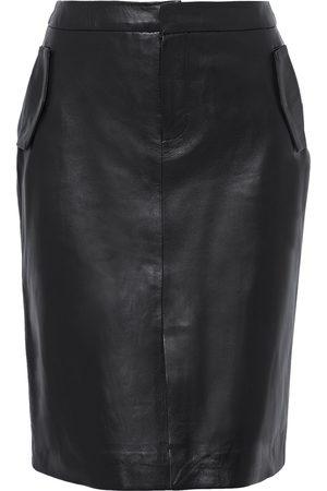 Muubaa Women Pencil Skirts - Woman Alice Leather Pencil Skirt Size 10