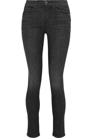 Frame Woman Le Skinny De Jeanne Mid-rise Skinny Jeans Size 26