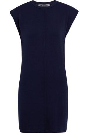 Walter Baker Women Party Dresses - Woman Destiny French Terry Mini Dress Navy Size S