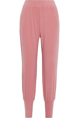 Walter Baker Women Sweatpants - Woman Devon Brushed-fleece Track Pants Antique Rose Size S