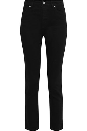 IRO Women High Waisted - Woman Galloway Cropped High-rise Skinny Jeans Size 26