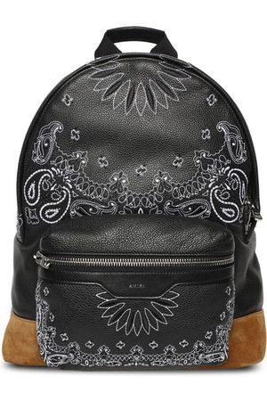 AMIRI Bandana Classic Leather Backpack