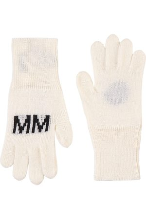 MM6 Margiela Kids - Branded Gloves - Unisex - II (8-10 years) - - Wool gloves and mittens