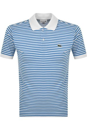 Lacoste Short Sleeved Striped Polo T Shirt