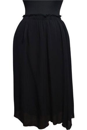 Pomandere Silk mid-length skirt