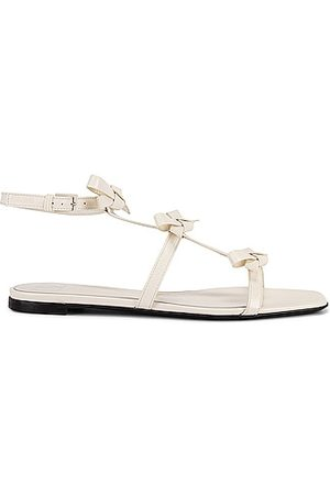 VALENTINO GARAVANI French Bows Sandals in White