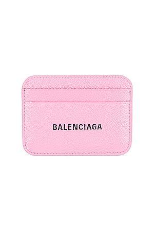 Balenciaga Cash Card Holder in Rose