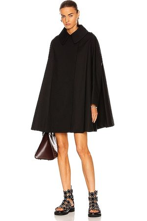ALA?A Edition Trench Coat Cape in