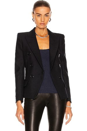ALEXANDRE VAUTHIER Women Blazers - Double Breasted Blazer in Navy