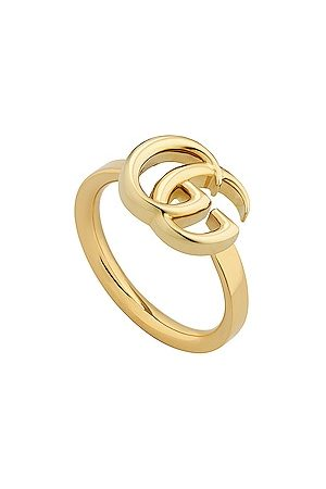 Gucci Running G Ring in Metallic