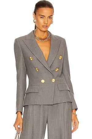 ALEXANDRE VAUTHIER Women Blazers - Double Breasted Blazer in Grey
