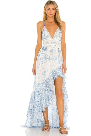 ROCOCO SAND Leas High Low Dress in , .