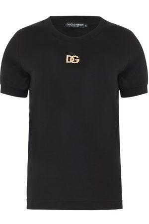 Dolce & Gabbana Women Short Sleeve - Logo T-shirt