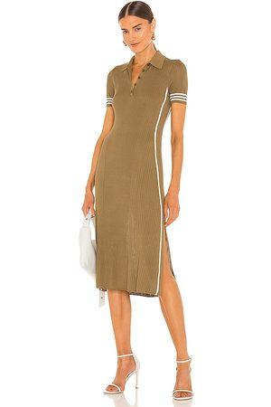 RAG&BONE Peyton Polo Dress in Olive.