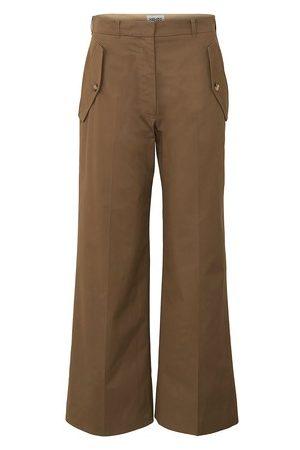 Kenzo Women Wide Leg Pants - FLARED CROPPED PANTS