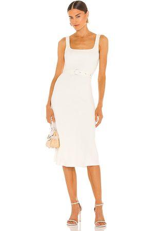 JoosTricot Women Midi Dresses - Tank Midi Dress in White.