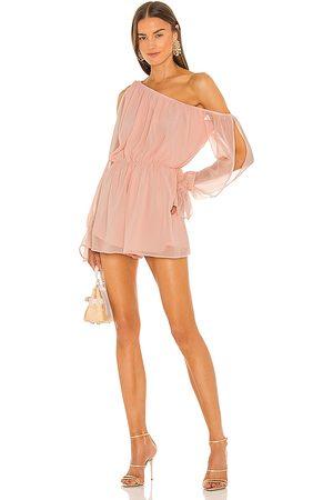 Michael Costello Women T-shirts - X REVOLVE Allie Romper in Blush.