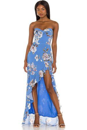 Amanda Uprichard Women Evening dresses - X REVOLVE Eden Gown in .