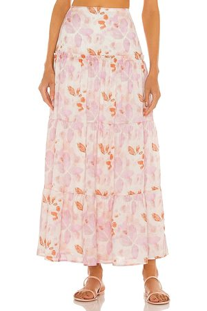 House of Harlow X Sofia Richie Tammy Skirt in Pink.