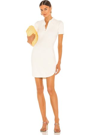 JoosTricot Polo Dress in White.