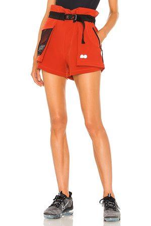 Nike Women Sports Shorts - X Naomi Osaka Utility Short in Red.