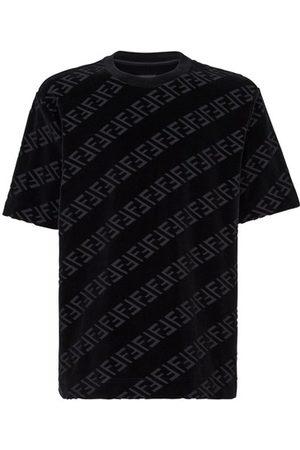 Fendi Velvet T-Shirt