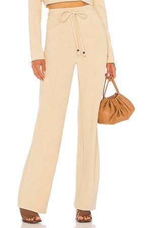 House of Harlow X Sofia Richie Prague Pant in Taupe.