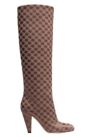 Fendi Women Heeled Boots - High-Heeled Boots In Fabric
