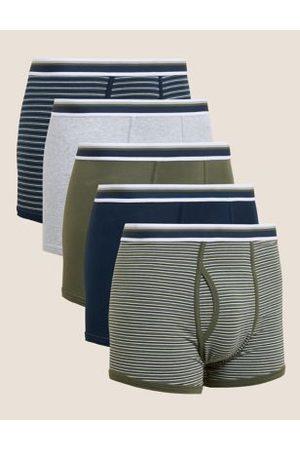 Marks & Spencer 5pk Cotton Stretch Cool & Fresh™ Trunks