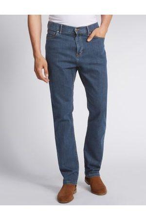 Marks & Spencer Shorter Length Regular Fit Stretch Jeans