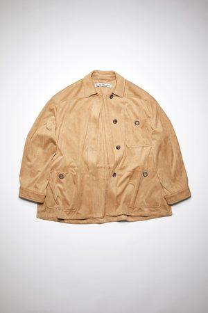 Acne Studios FN-WN-OUTW000492 Faux suede jacket