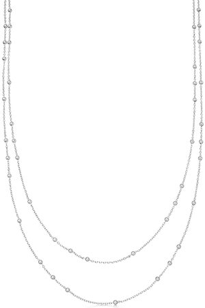 Missoma Women Necklaces - Double Chain sterling necklace