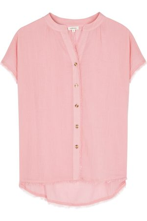 LOVE Stories Pia cotton pyjama shirt