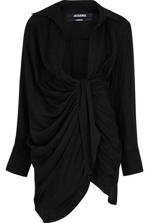 Jacquemus Women Party Dresses - La Robe Bahia twill mini dress